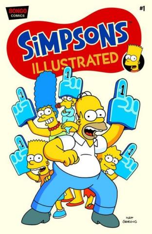 Simpsons Illustrated #1