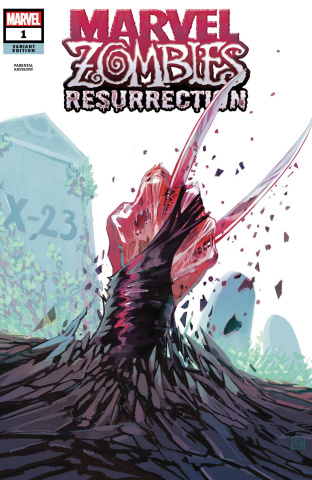 Marvel Zombies: Resurrection #1 (Hans Cover)