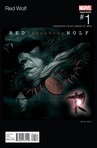 Red Wolf #1 (Del Mundo Hip Hop Cover)