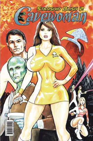 Cavewoman: Starship Blish #2 (Massey Cover)