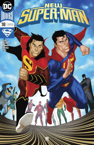 New Super-Man #18 (Variant Cover)