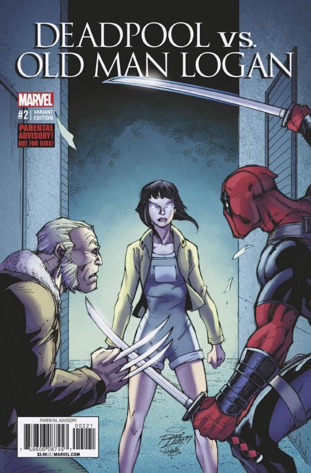 Deadpool vs. Old Man Logan #2 (Lim Cover)