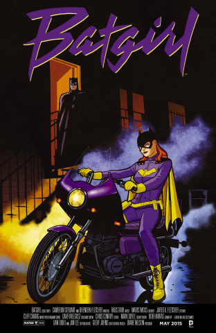 Batgirl #40 (Movie Poster Cover)