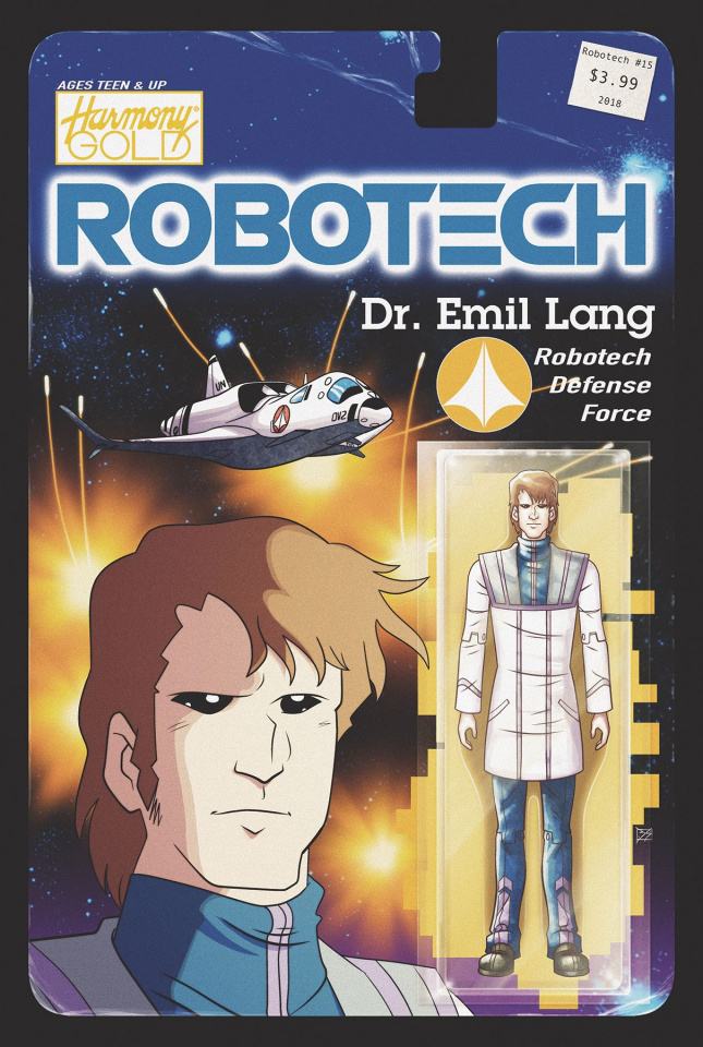 Robotech #15 (Action Figure Cover)