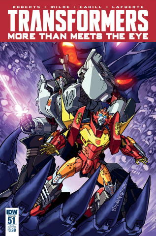 The Transformers: More Than Meets the Eye #51