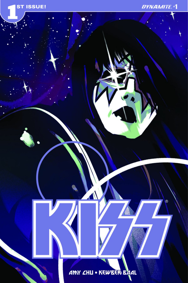 KISS #1 (Montes Spaceman Cover)