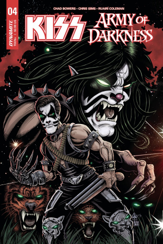 KISS / Army of Darkness #4 (Haeser Cover)