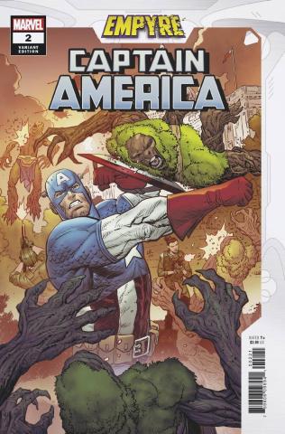 Empyre: Captain America #2 (Luke Ross Cover)