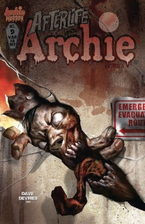Afterlife With Archie #9 (Devries Cover)