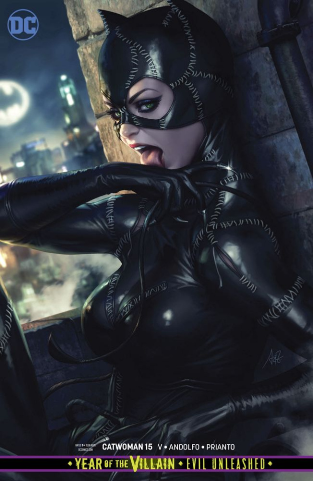 Catwoman #15 (Card Stock Cover)