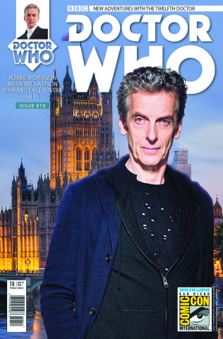 Doctor Who: New Adventures with the Twelfth Doctor #10 (SDCC Cover)