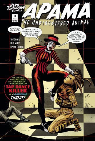 Apama: The Undiscovered Animal #11 (Gallego Cover)