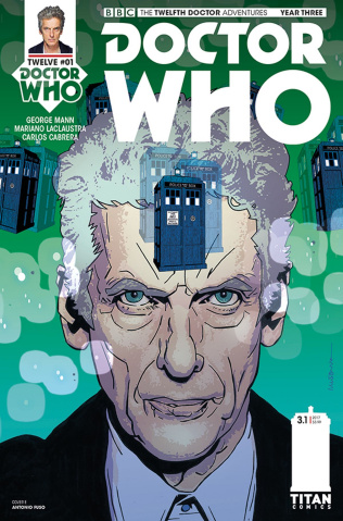 Doctor Who: New Adventures with the Twelfth Doctor, Year Three #1 (Fuso Cover)