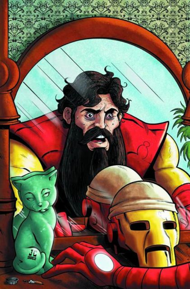 Rich Johnston's Iron Muslim #1 (2nd Printing)
