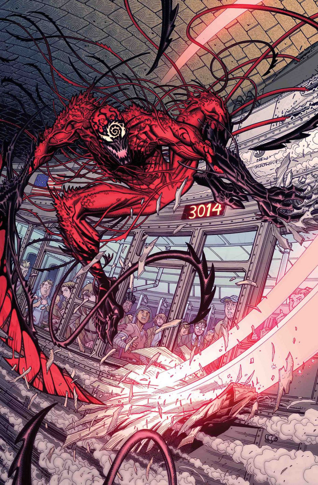 Absolute Carnage #1 (Bradshaw Cover)