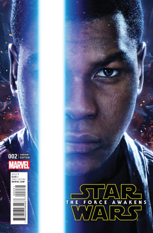 Star Wars: The Force Awakens #2 (Movie Cover)