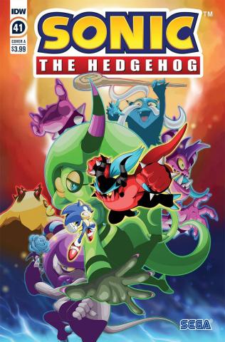 Sonic the Hedgehog #41 (Adam Bryce Thomas Cover)