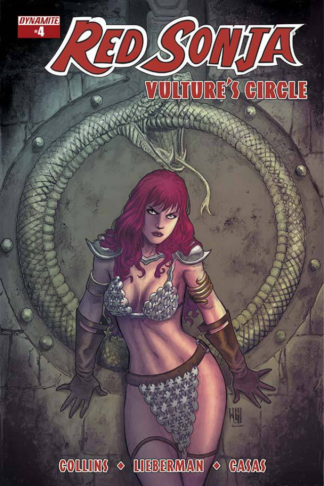 Red Sonja: Vulture's Circle #4 (Geovani Cover)