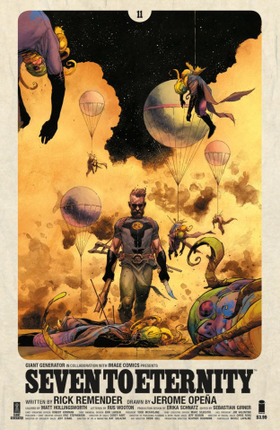 Seven to Eternity #11 (Opena & Hollingsworth Cover)