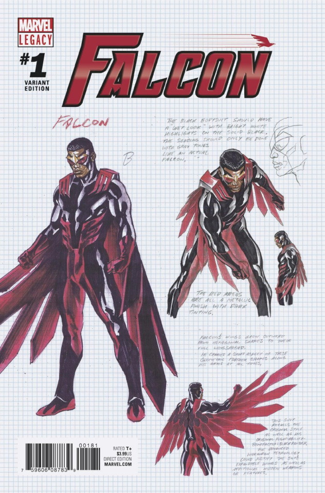 The Falcon #1 (Ross Design Cover)