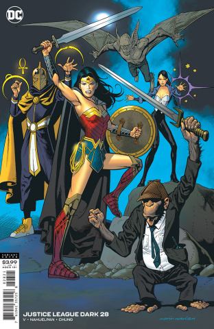 Justice League Dark #28 (Kevin Nowlan Cover)