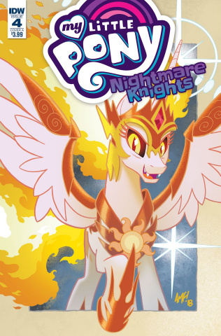 My Little Pony: Nightmare Knights #4 (Fleecs Cover)
