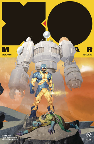 X-O Manowar #13 (20 Copy Olivetti Cover)