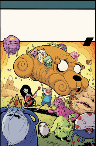 Adventure Time Comics #1 (50 Copy Millionaire Cover)