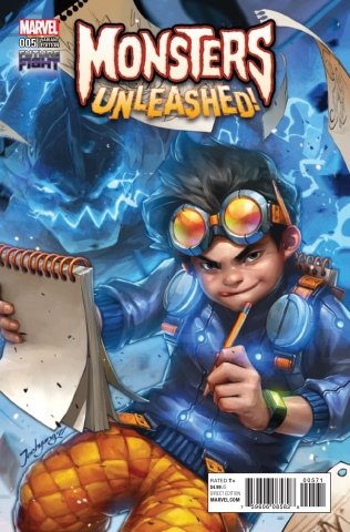 Monsters Unleashed! #5 (Video Game Cover)