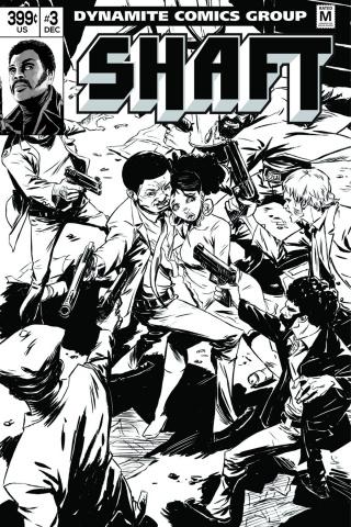 Shaft #3 (15 Copy Greene B&W Cover)