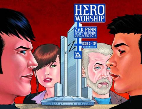 Hero Worship #3 (Wrap Cover)