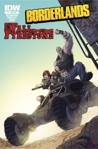Borderlands: The Fall of Fyrestone #1 (Subscription Cover)