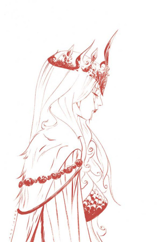 Red Sonja #18 (35 Copy Lee Tint Virgin Cover)