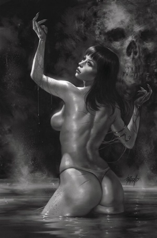 Vengeance of Vampirella #5 (25 Copy Parrillo B&W Virgin Cover)