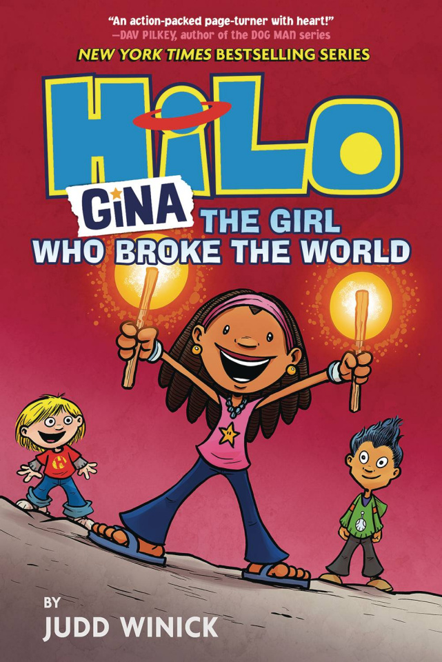 HiLo Vol. 7: Gina, THe Girl Who Broke The World