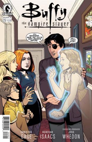 Buffy the Vampire Slayer, Season 10 #29 (Isaacs Cover)