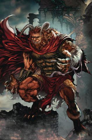 Belle: Beast Hunter #4 (Tolibao Cover)