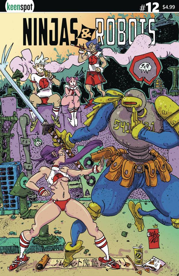 Ninjas & Robots #12 (Klaus Cover)