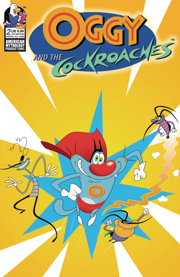 Oggy and the Cockroaches #2 (Animation Cel Cover)