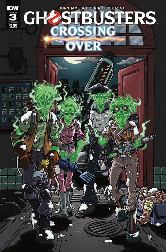 Ghostbusters: Crossing Over #3 (Lattie Cover)