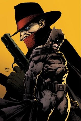 The Shadow / Batman #1 (40 Copy Finch Cover)