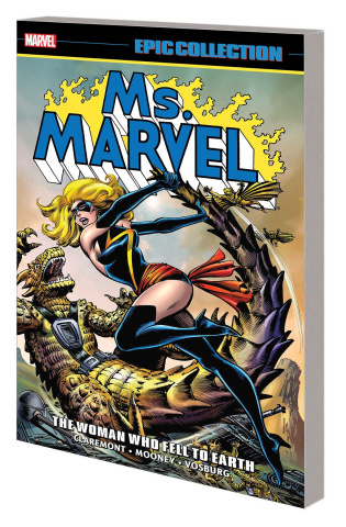 Ms. Marvel: The Woman Who Fell to Earth (Epic Collection)