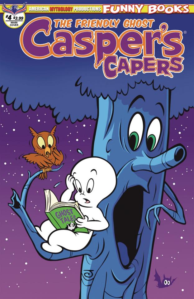Casper's Capers #4 (Scherer Cover)