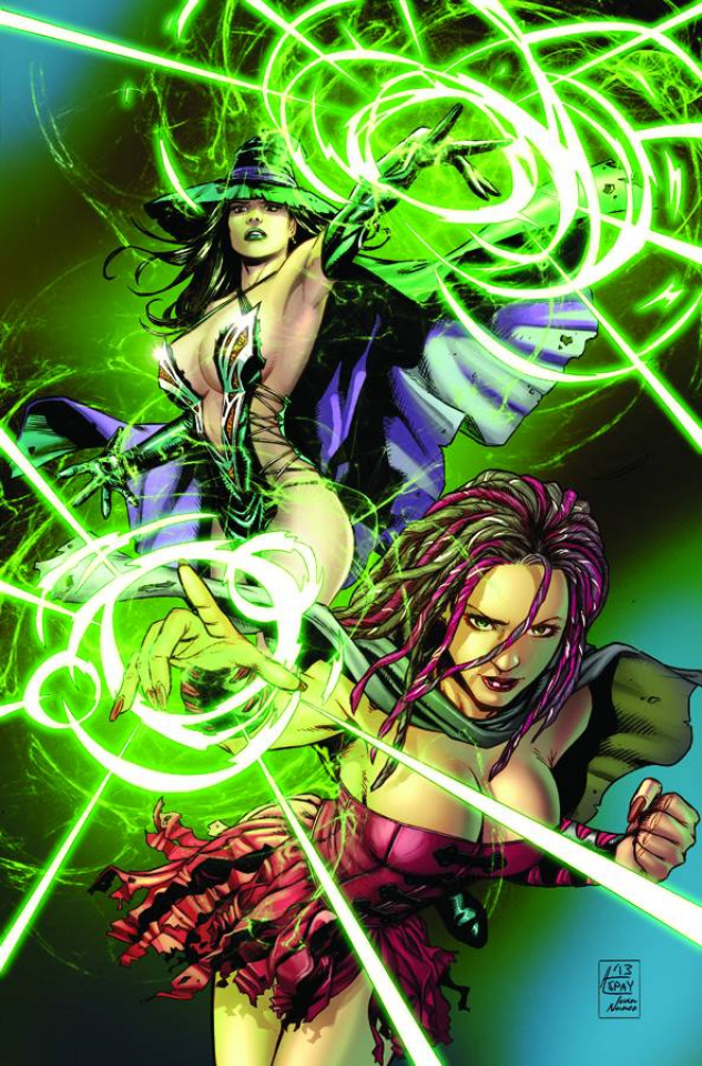 Grimm Fairy Tales: Oz #3 (Spay Cover)