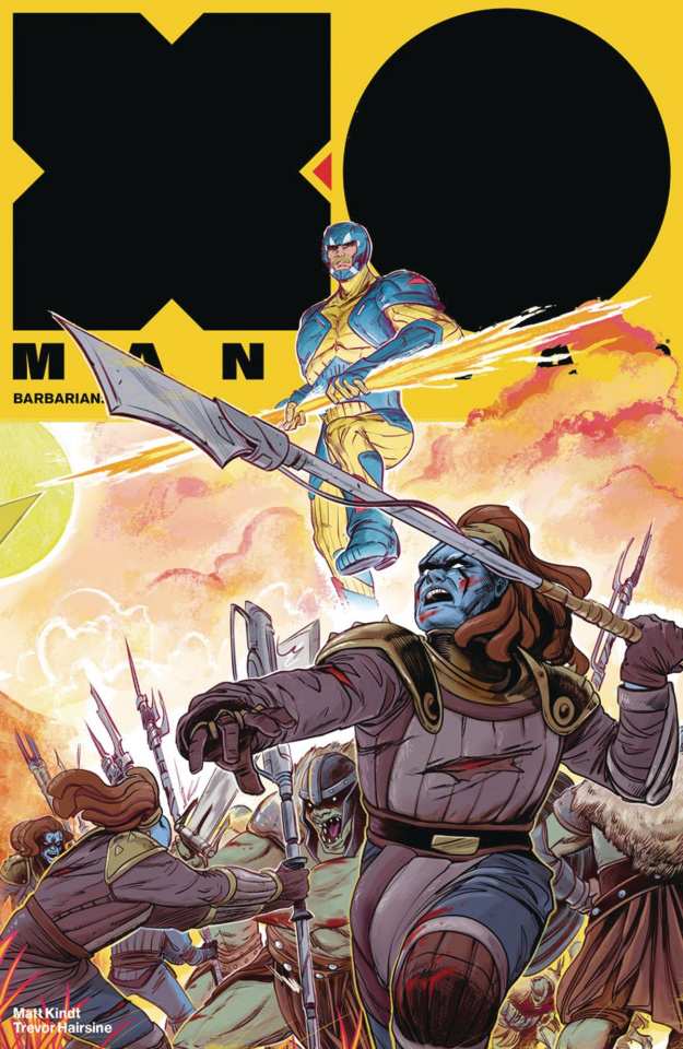 X-O Manowar #16 (20 Copy Fish Cover)
