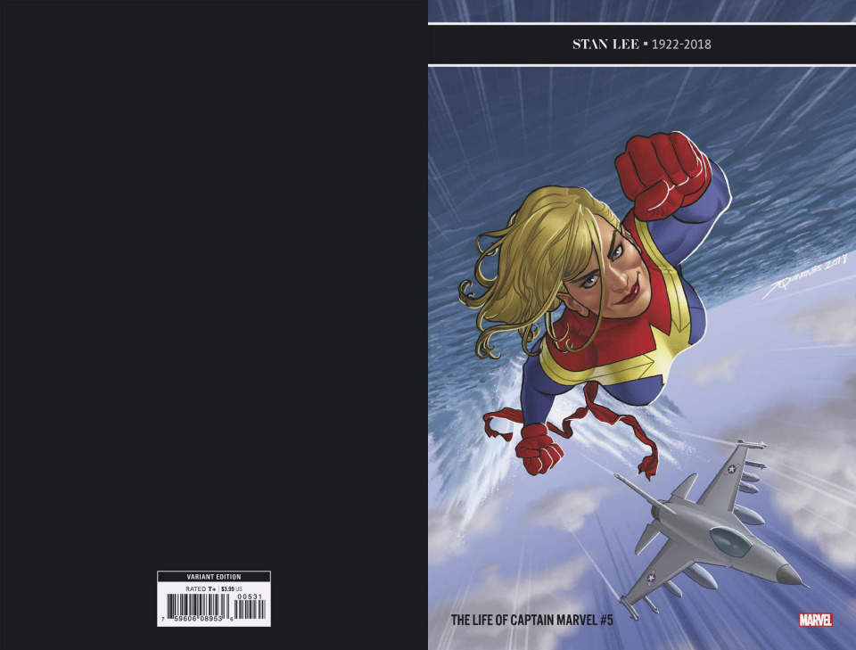 The Life of Captain Marvel #5 (Quinones Cover)