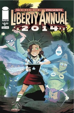 Comic Book Legal Defense Fund Liberty Annual 2014 (Charm Cover)