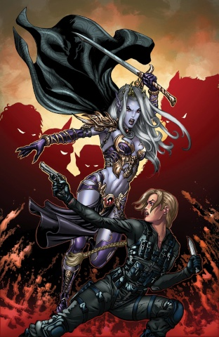 Grimm Fairy Tales: Escape From Monster Island #5 (Kivela Cover)