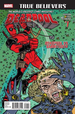 Deadpool: Deadpool vs. Sabretooth #1 (True Believers)