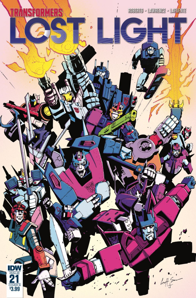 The Transformers: Lost Light #21 (Senior Cover)